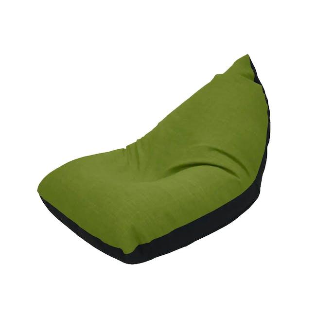 Doodle Triangle Bean Bag - Green - 0