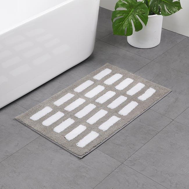 Nordic Dash Floor Mat - Grey - 1