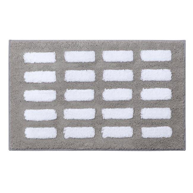 Nordic Dash Floor Mat - Grey - 0