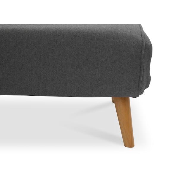 Noel 2 Seater Sofa Bed - Ebony - 17