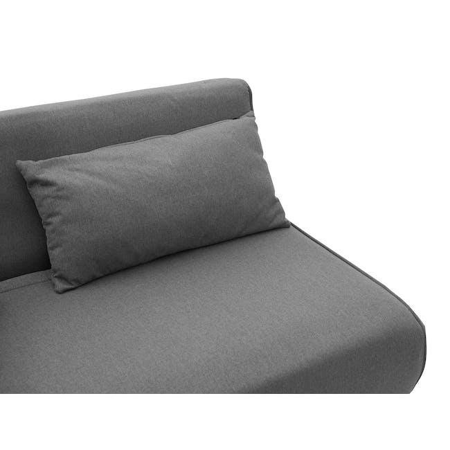 Noel 2 Seater Sofa Bed - Ebony - 16