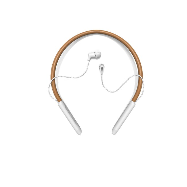Klipsch T5 Neckband Bluetooth Earphones - Brown - 0