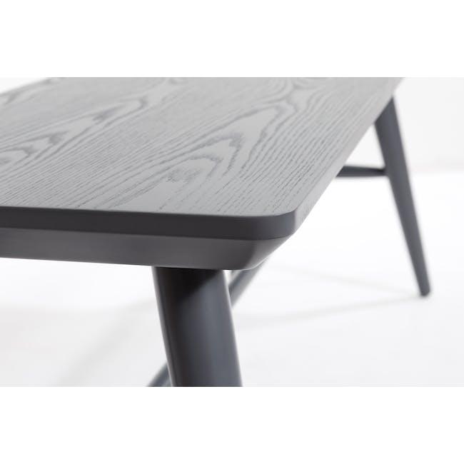 Marrim Bench 1.2m - Graphite Grey - 8