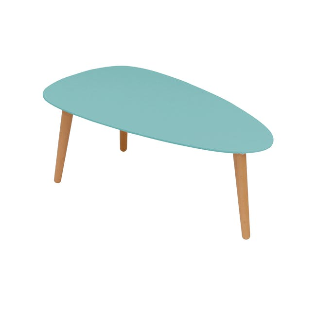 (As-is) Avery Coffee Table - Robin Blue - 0