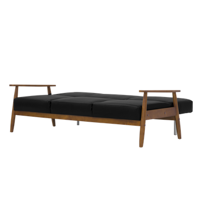 (As-is) Todd Sofa Bed - Black - 6 - Image 2