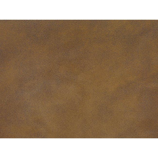 Cadencia 3 Seater Sofa - Tan (Faux Leather) - 11