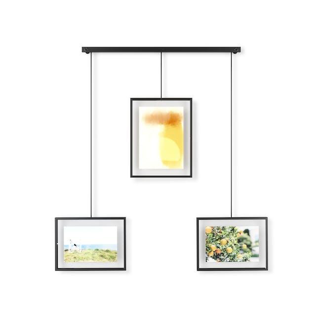 Exhibit 3 Frames Photo Display - Black - 0