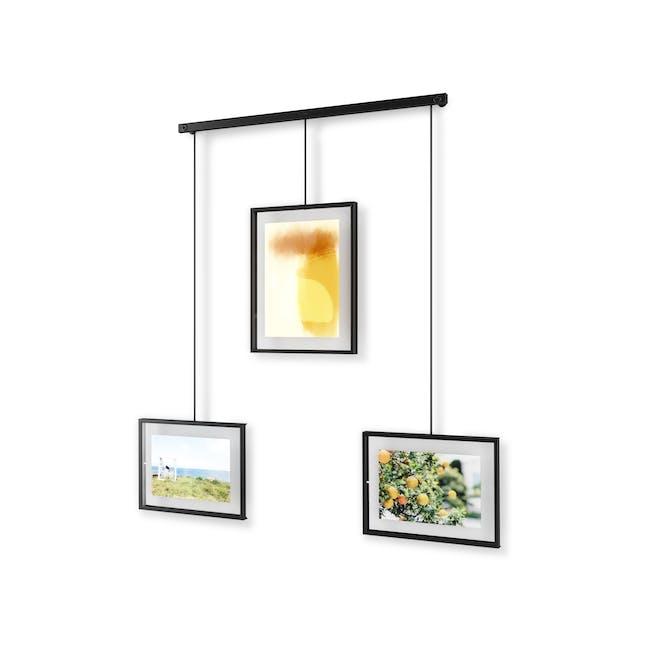 Exhibit 3 Frames Photo Display - Black - 2