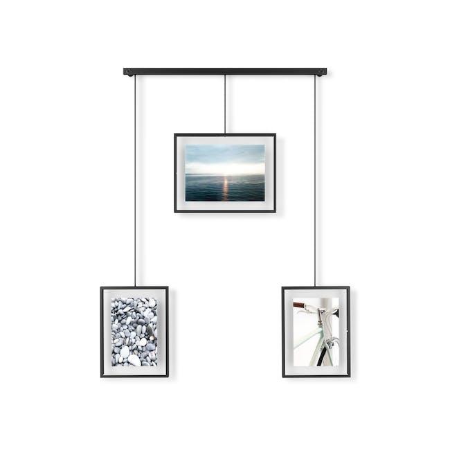Exhibit 3 Frames Photo Display - Black - 3