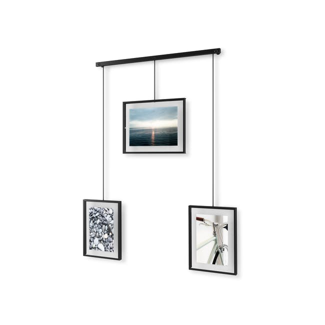 Exhibit 3 Frames Photo Display - Black - 4