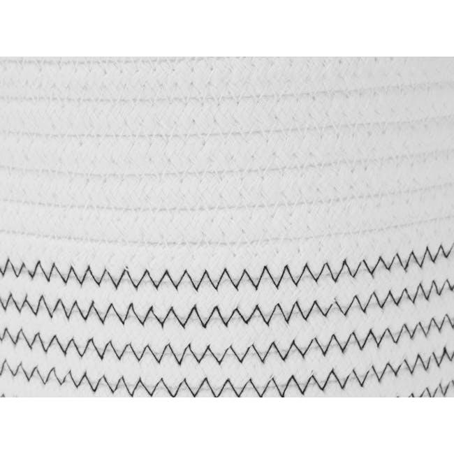 Hilde Rope Basket with Hanging Loop (Set of 2) - 1