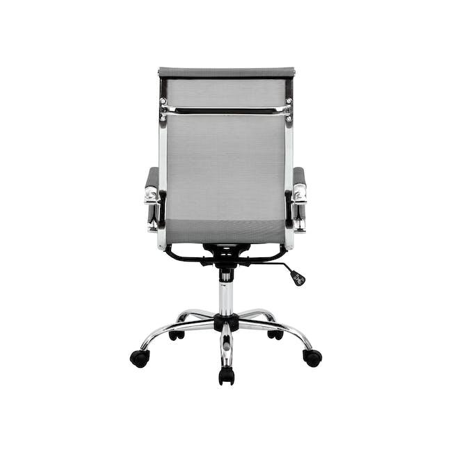 Eames High Back Mesh Office Chair Replica - Grey - 8