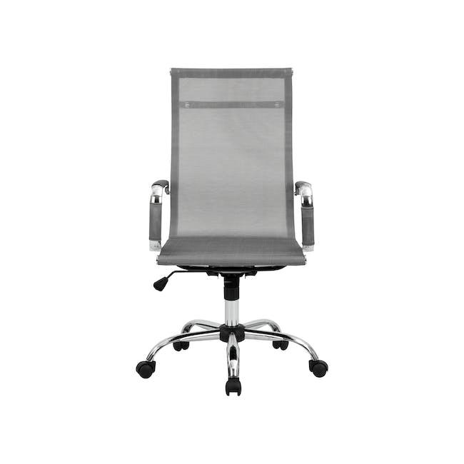 Eames High Back Mesh Office Chair Replica - Grey - 0