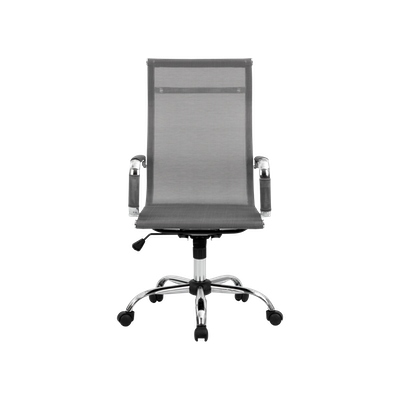 Eames High Back Mesh Office Chair - Grey - Image 1