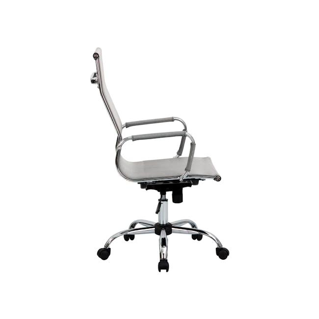 Eames High Back Mesh Office Chair Replica - Grey - 7