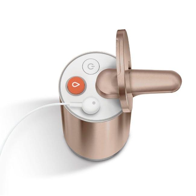 simplehuman Sensor 10oz Foam Soap Pump Rechargeable - Rose Gold - 1