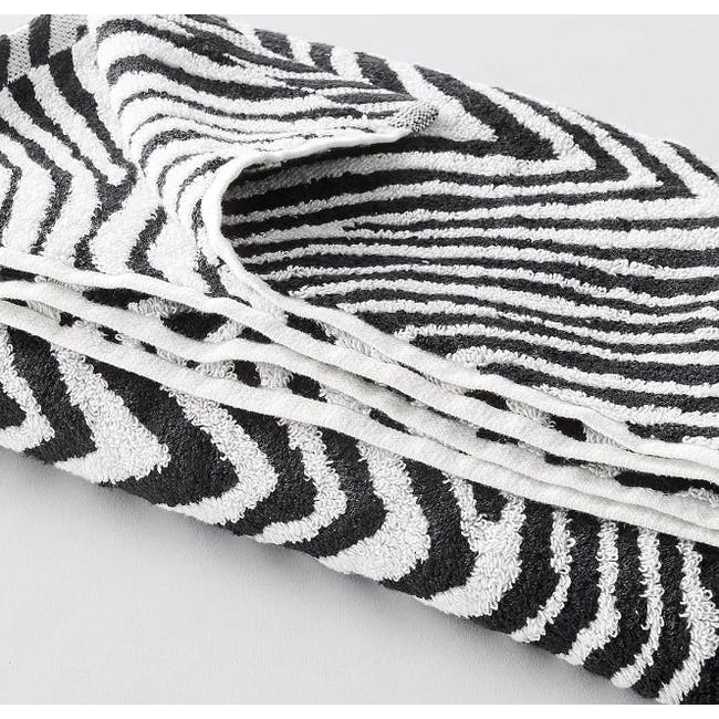 Canningvale Tribu' Bath Towel - Black - 1