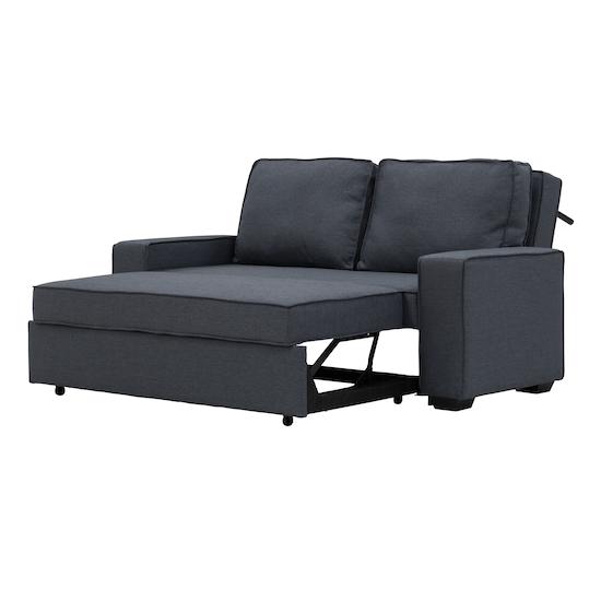 Arturo 3 Seater Sofa Bed Granite Sofa Beds By Hipvan Hipvan