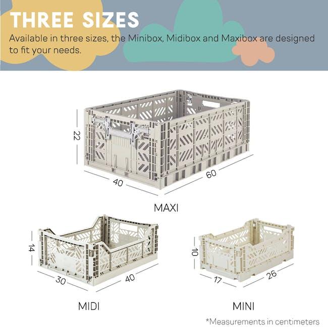 Aykasa Foldable Minibox - Khaki Green - 4