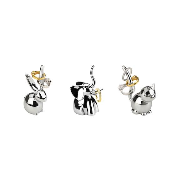 Umbra - Zoola Bunny Ring Holder - Chrome