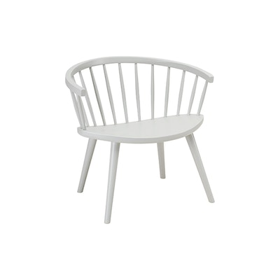 Molly Lounge Chair - White Grey - Image 1
