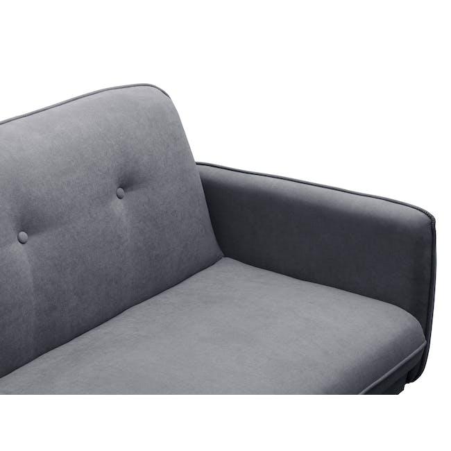 Emery Sofa Bed - Hailstorm - 6