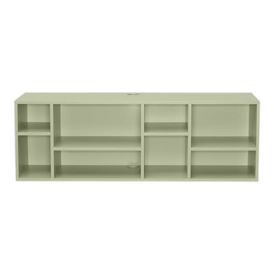 (As-is) Liam Media Rack 1.2m - Dust Green - 1 - Image 1
