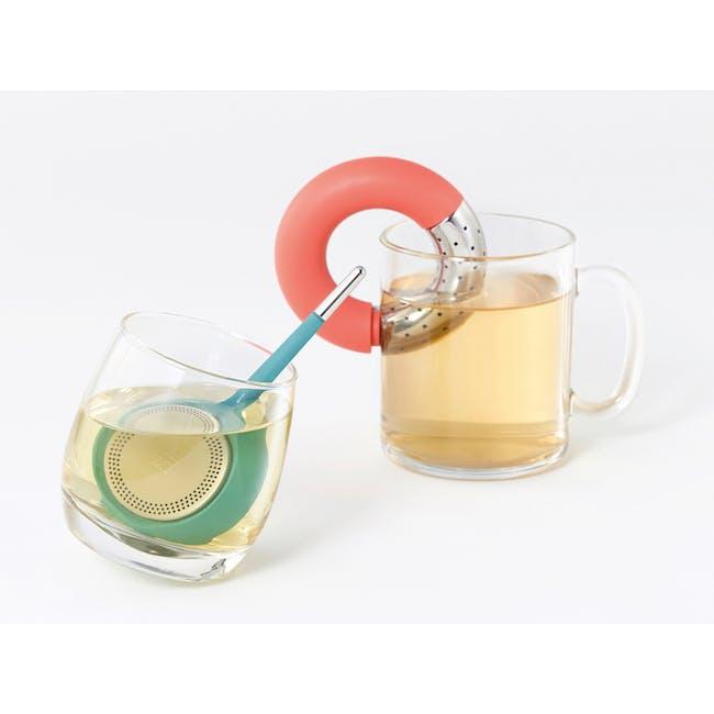OMMO Torus Tea Infuser - Paprika - 1