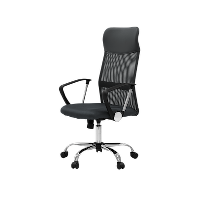 Cory High Back Office Chair - Grey - Image 2