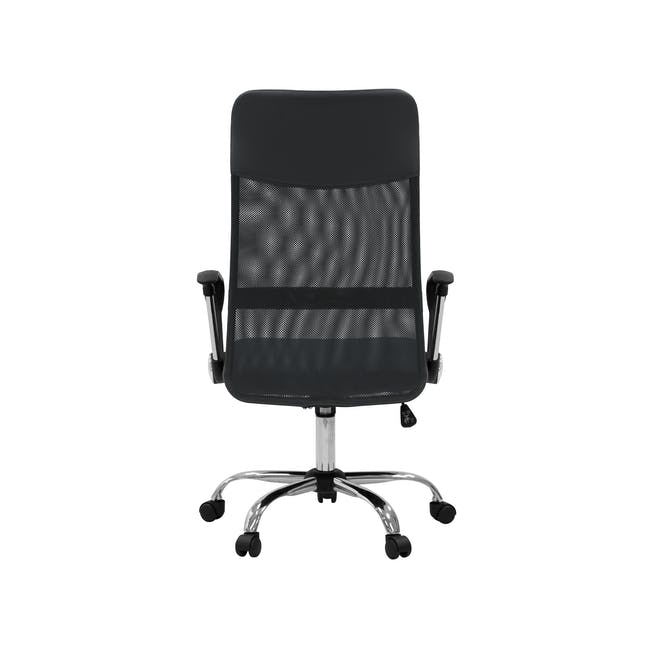 Cory High Back Office Chair - Grey - 4