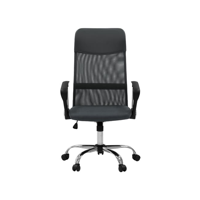 Cory High Back Office Chair - Grey - 0