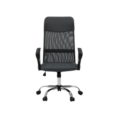 Cory High Back Office Chair - Grey - Image 1