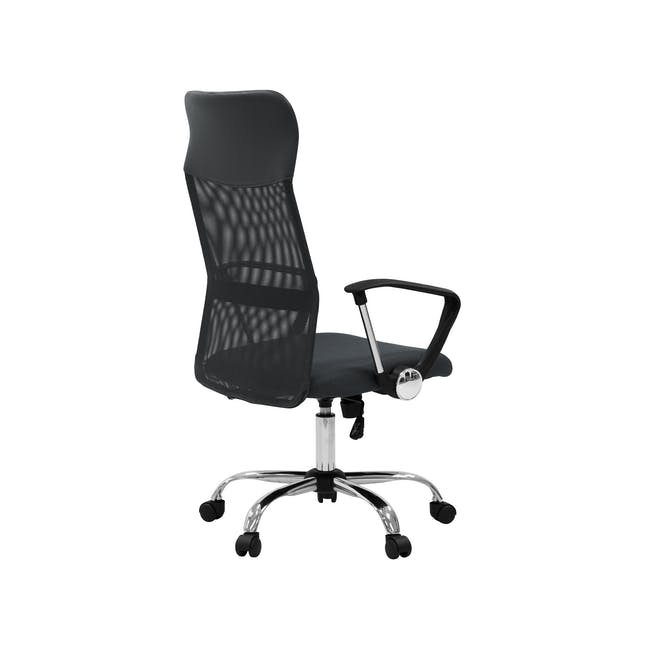 Cory High Back Office Chair - Grey - 3
