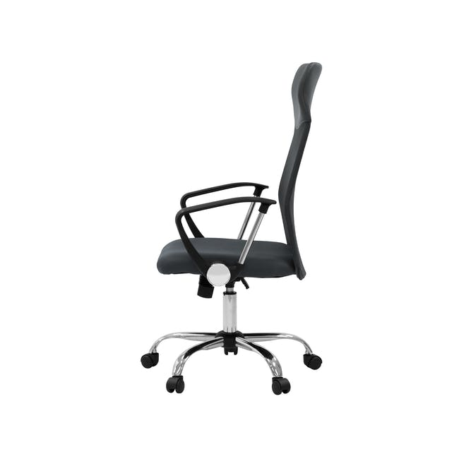 Cory High Back Office Chair - Grey - 2