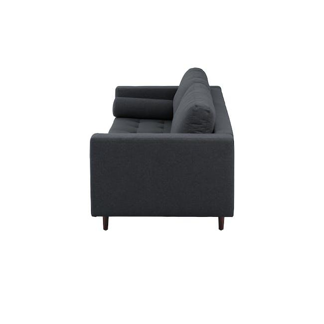 Nolan 3 Seater Sofa - Carbon (Fabric) - 3