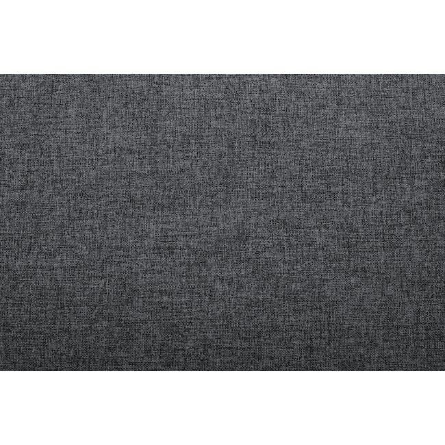 Nolan 3 Seater Sofa - Carbon (Fabric) - 7