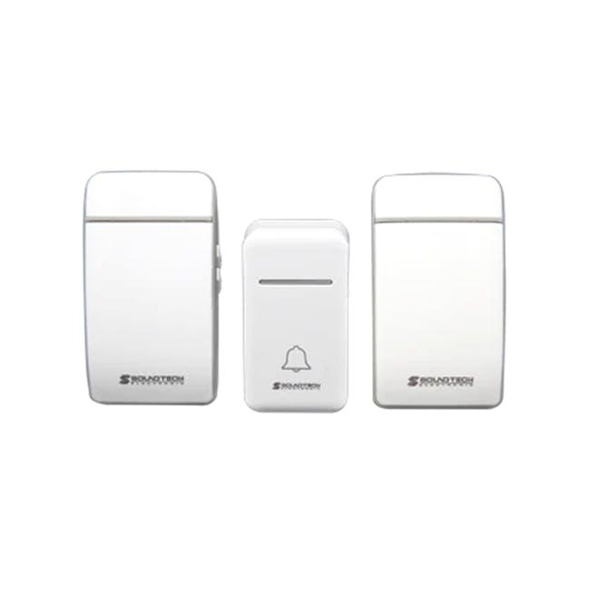 SOUNDTEOH Kinetic Wireless Digital Doorbell - 0