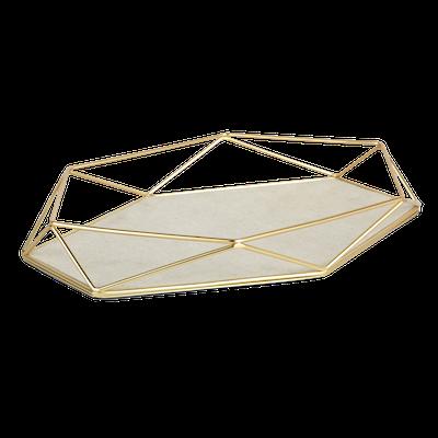 Prisma Jewelry Tray - Matte Brass - Image 2