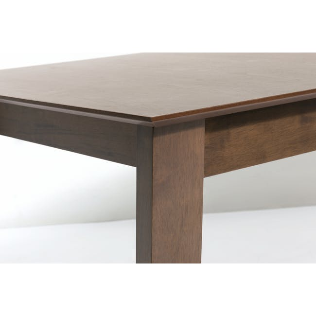 Meera Extendable Dining Table 1.6m - Cocoa - 16