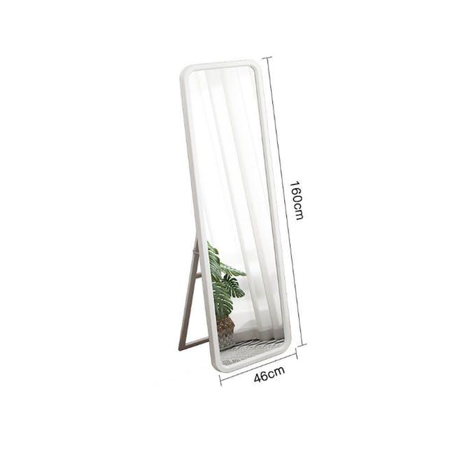 Keiji Standing Mirror 46 x 160 - White - 1