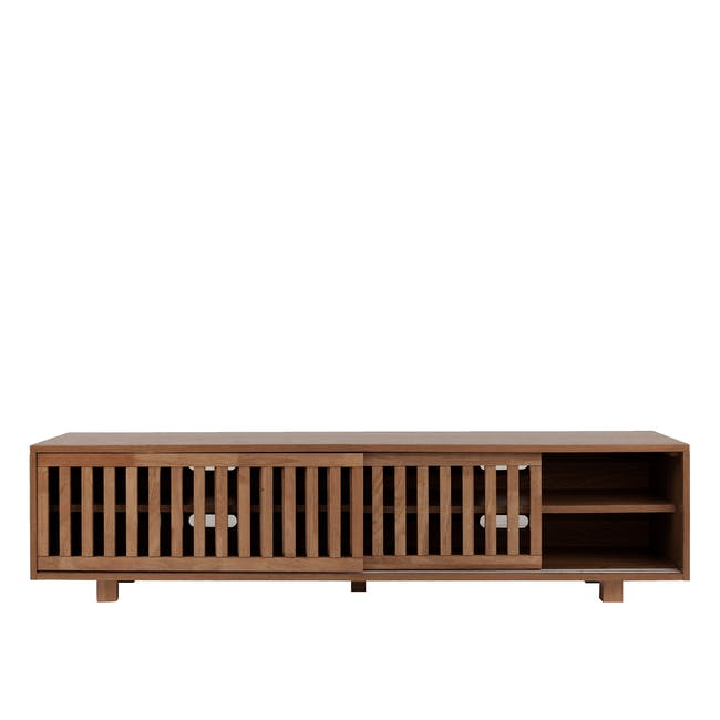 Keita TV Console 1.8m - Walnut - 0