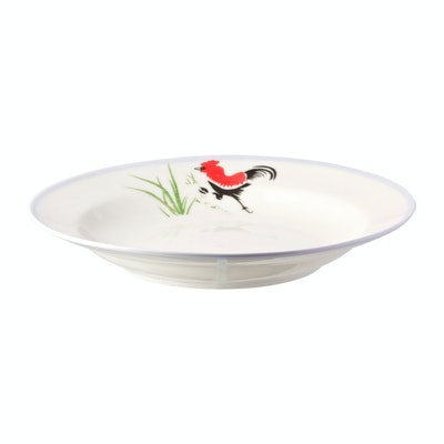 Rooster 8 Inch Soup Plate (3 pcs) - Image 1