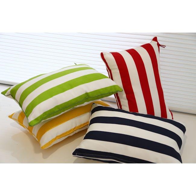 Rally Rectangle Cushion - Navy - 1