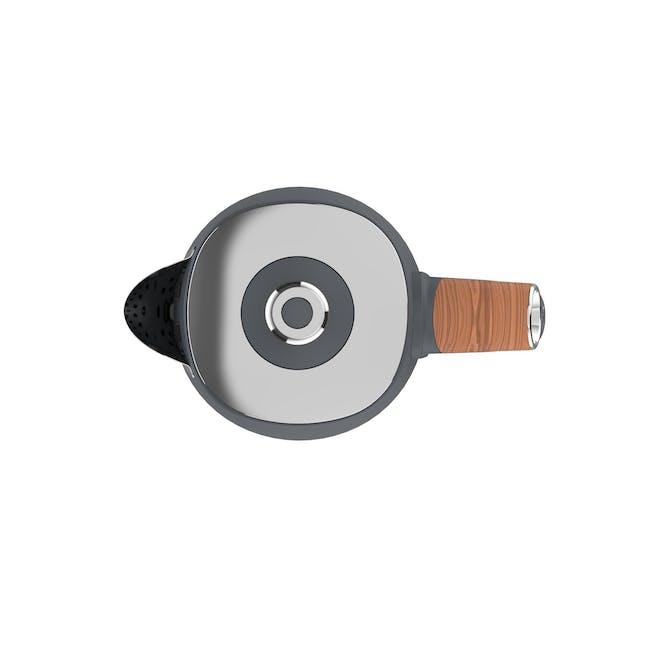 Odette Otto Series 1.7L Temperature Control Electric Kettle - Grey - 2