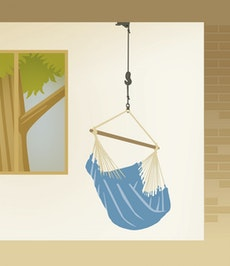 Suspension Hammock Chair - Universal