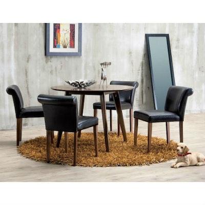 Suzy Dining Chair - Dark Brown