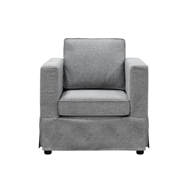 Berlin Armchair - Siberian Grey - 0