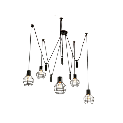 Quentin Caged Chandelier
