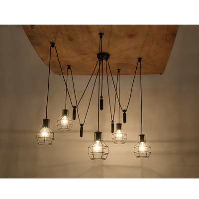 Quentin Caged Chandelier - Image 2