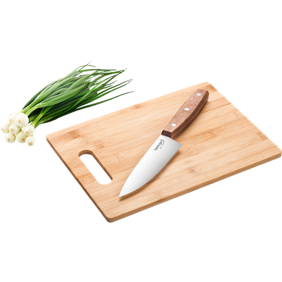 Lamart BAMBOO Cutting Board with Chef's Knife - Image 1